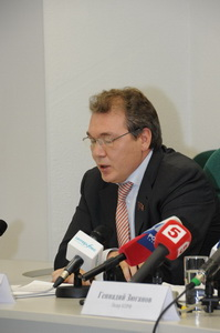 Г.А. Зюганов: Идет целенаправленное разрушение системы безопасности страны. Пресс-конференция лидера КПРФ в информационном агентстве «Интерфакс»