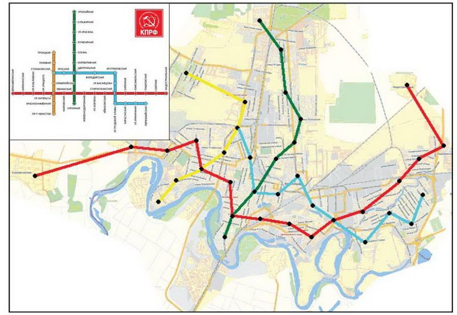 метро в Краснодаре нужно