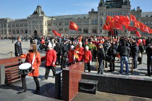 По Красной площади - к Ленину!